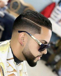 Latin-beard-fade