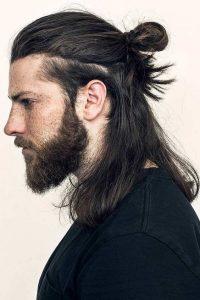 Layered-Samurai-Hairstyles