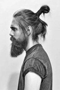 Messy-Samurai-Hairstyle