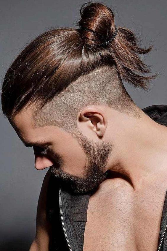 Samurai Hairstyles for men