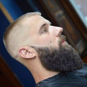 buzzed-beard-fade