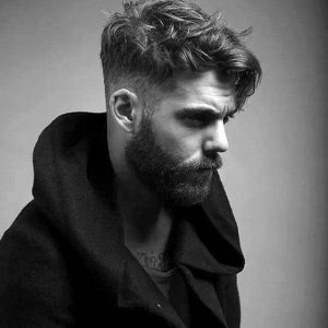 messy-mid-fade-haircut