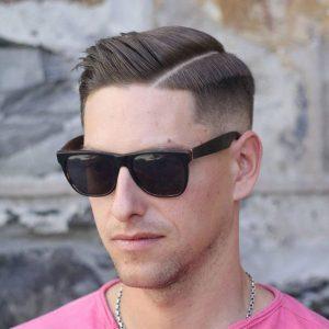 sleek-mid-fade-haircut