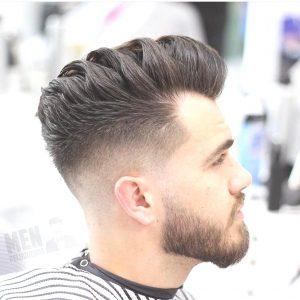 sleek Mid Fade Haircut