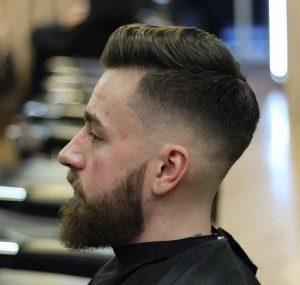 Mid Fade Haircut long top